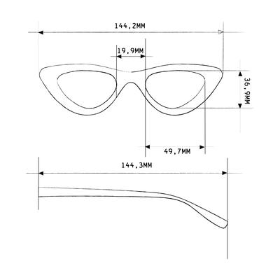 Lettura Cat Eye | Dettagli tecnici