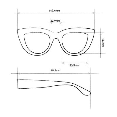 Sole Big Cat Eye | Dettagli tecnici